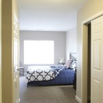 master bedroom at Broadleaf Boulevard Apartments