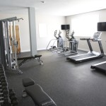 fitness center at Broadleaf Boulevard Apartments in Manchester