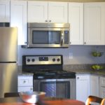 kitchen at Broadleaf Boulevard Apartments in Manchester
