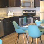 kitchen dining at Broadleaf Boulevard Apartments in Manchester