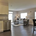 Open floor plan at Broadleaf Boulevard Apartments in Manchester